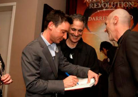 Signing Books at the Alex Detail Launch Party